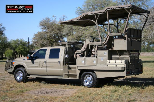 Performance Top Drive Hunting Truck Outfitters 4wd Hunting Truck