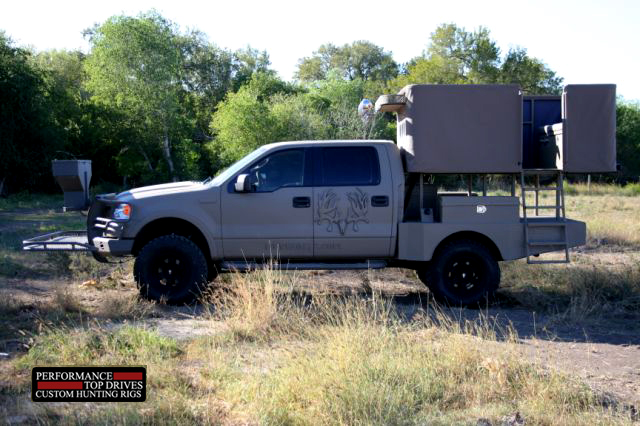 Performance Top Drive Hunting Truck Outfitters 4wd