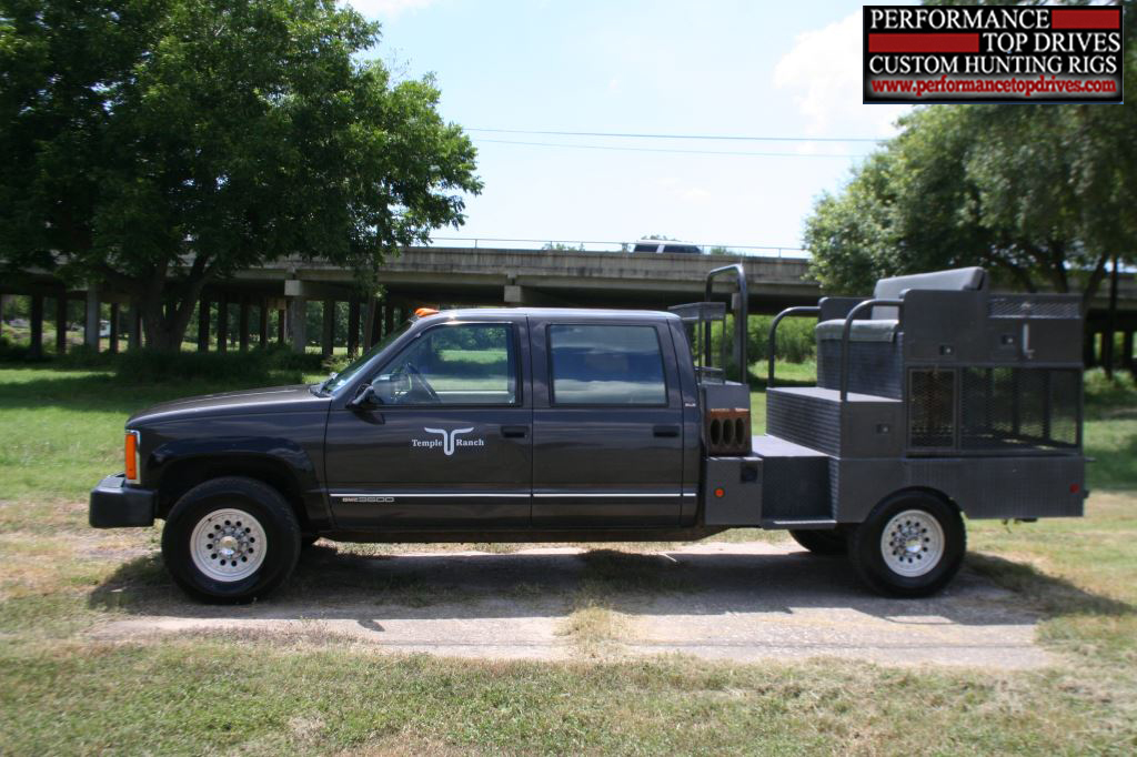 Performance Top Drive Hunting Truck Outfitters: 4wd hunting